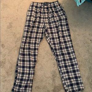 Pj pants with pockets